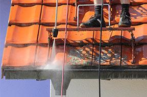 dak zelf reinigen