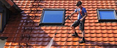 dak schoonmaken en impregneren Amsterdam