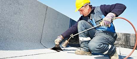 repareren platte daken